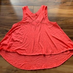 Free people we the free high low v-neck tank S